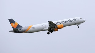 A Thomas Cook plane