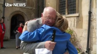 Transplant patient meets life-saving surgeon, 30 years on