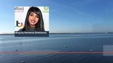 ITV News Anglia's reporter Raveena Ghattaura blogs from Florida.