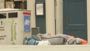Rough sleeping in Cardiff