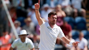 Anderson becomes first English bowler to reach 500 Test wickets
