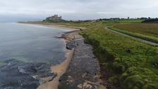 Northumberland coastline.