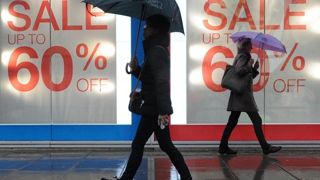 Economic conditions are tough for retailers in the financial downturn
