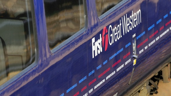 First Great Western train service locomotive 