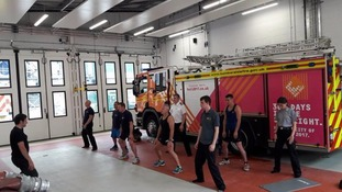 The classes hope to improve the mental health of the firefighters