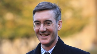 Tory backbencher Jacob Rees-Mogg.