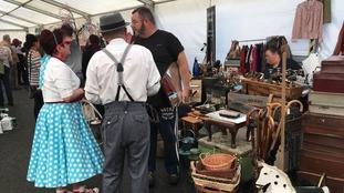 First ever vintage festival in Workington