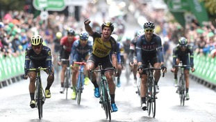 Groenewegen wins stage seven of the Tour of Britain as Boom stays in green