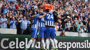 Brighton break Premier League duck with convincing win over West Brom