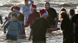 Countdown to Boxing Day charity dip