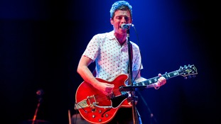 Noel Gallagher headlined last night's concert