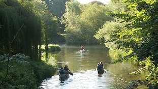 Environment Agency's work helps canoeists navigate River Stour