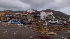 The aftermath of Irma in the British Virgin Islands.
