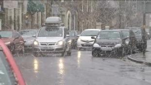 Snow on roads