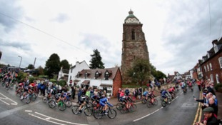 Worcester welcomes Tour of Britain