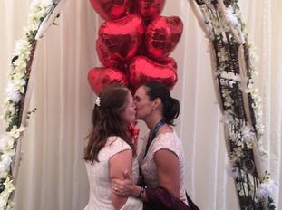 Congratulations Laura and Christina!
