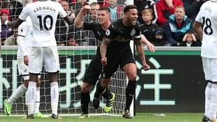 Lascelles' header is enough to seal Newcastle win at Swansea