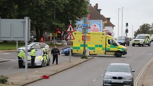 11 year old girl seriously injured in crash on busy Portslade road