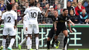 Swansea City beaten 1-0 at home to Newcastle United