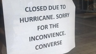 Shops in Orlando close early on Friday 8 September to prepare for the hurricane.