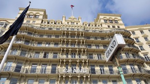 Brighton Grand Hotel given all-clear following bomb threat