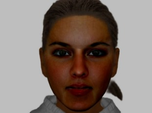 An efit image of a woman police in Harlow would like to trace in connection with a burglary and fraudulent charity collection.