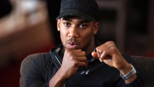 Anthony Joshua is ready for the world heavyweight title fight.