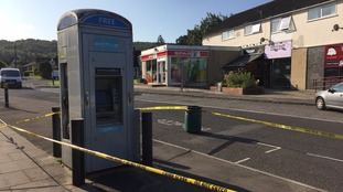 Suspected cash machine raid in North Somerset