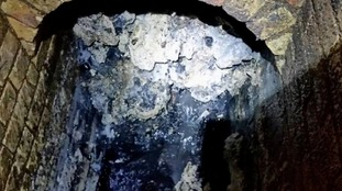 Fatberg the weight of 11 double decker buses blocks Whitechapel sewer