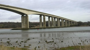 There is a warning for some drivers to avoid the Orwell Bridge in Suffolk during Storm Aileen on Tuesday night into Wednesday.