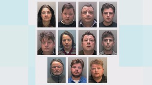 A total of 11 defendants were convicted of offences following a series of linked trials relating to modern slavery and fraud at Nottingham Crown Court.