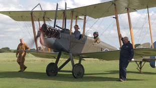 Historic First World War airfield restored by lottery cash