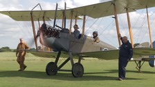 A reproduction of a BE2-e which flew from Stow Maries airfield a hundred years ago.