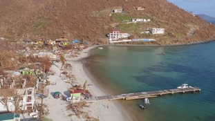 Jost Van Dyke's 298 inhabitants were completely cut off.