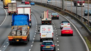 Which roads in Yorkshire and Lincolnshire could be affected by Storm Aileen?