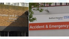 Luton and Dunstable and Bedford hospitals could merge.