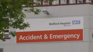 There were fears Bedford Hospital could lose its A&E - but bosses insist it will remain.