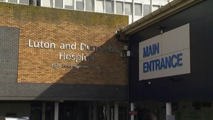 Luton and Dunstable Hospital.