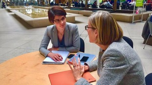 Chloe Smith met with crime minister Sarah Newton.
