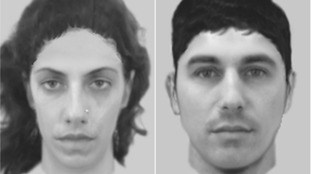 E-fit images of two of the alleged robbers.