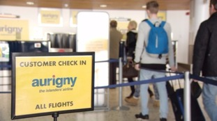 Aurigny to charge passengers for hold luggage
