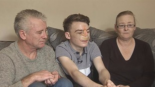 Kevin Tuite, his son Jason and mother Kay