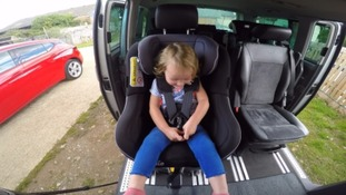 Devon mother calls for car seat changes