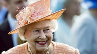 The Queen's Christmas message will also be broadcast later at 3pm