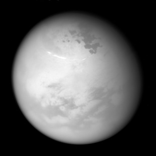 Saturn's biggest moon Titan