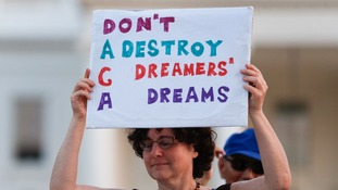 The apparent deal enshrines protections for some 800,000 so-called Dreamers