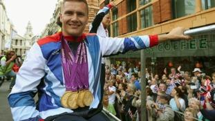 Paralympian David Weir