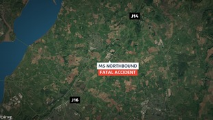 Fatal crash on the M5 northbound near Bristol