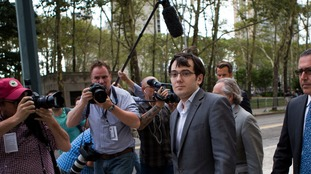 Martin Shkreli dubbed 'the most hated man in America'