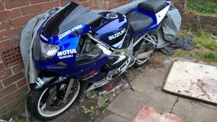 Three bikes were seized